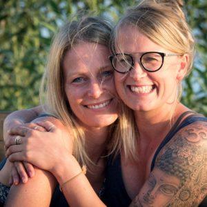 YogaBlick - Tina und Vanessa